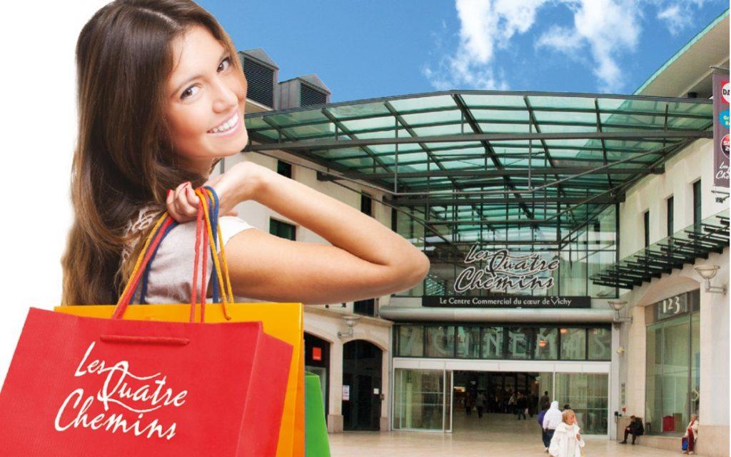 centre commercial les quatre chemins vichy